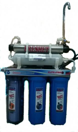 Bộ lọc nước tinh khiết RO-UV diệt khuẩn 100% -Cam kết chất lượng nước